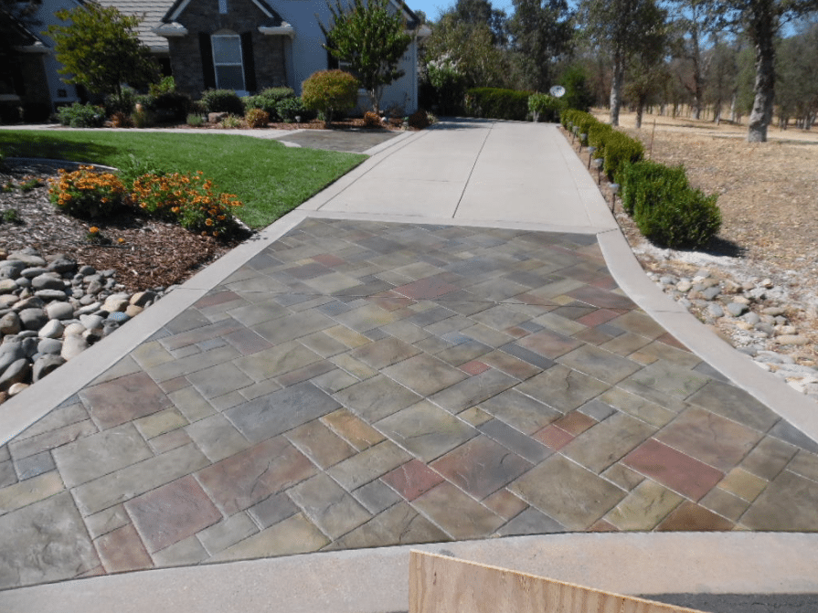Stamped Concrete Jim Currie certified NewLook Installer