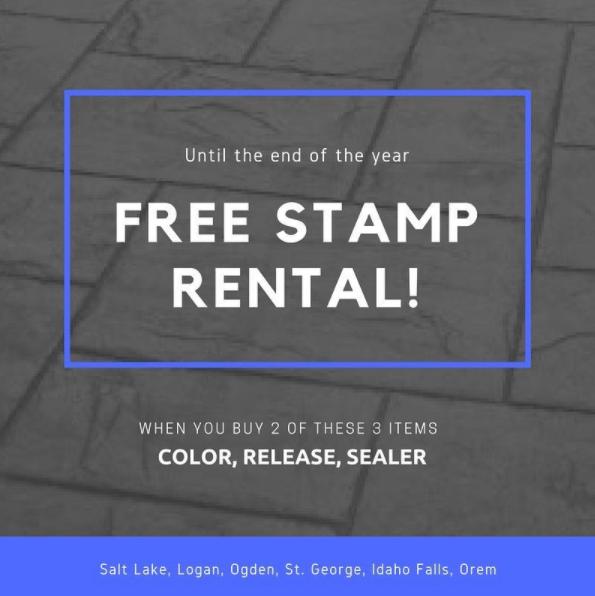 Free Stamp Rental Promo ICS