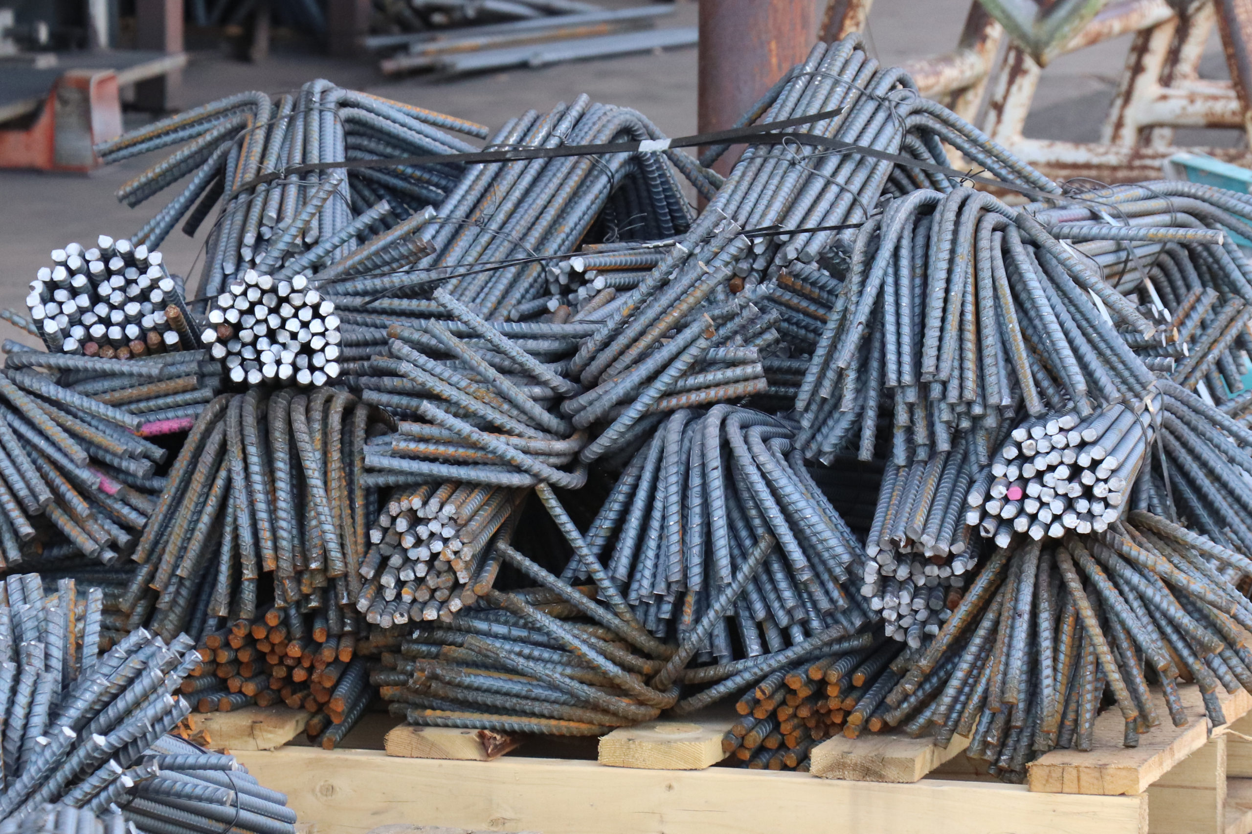 images of different types of rebar for fabrication