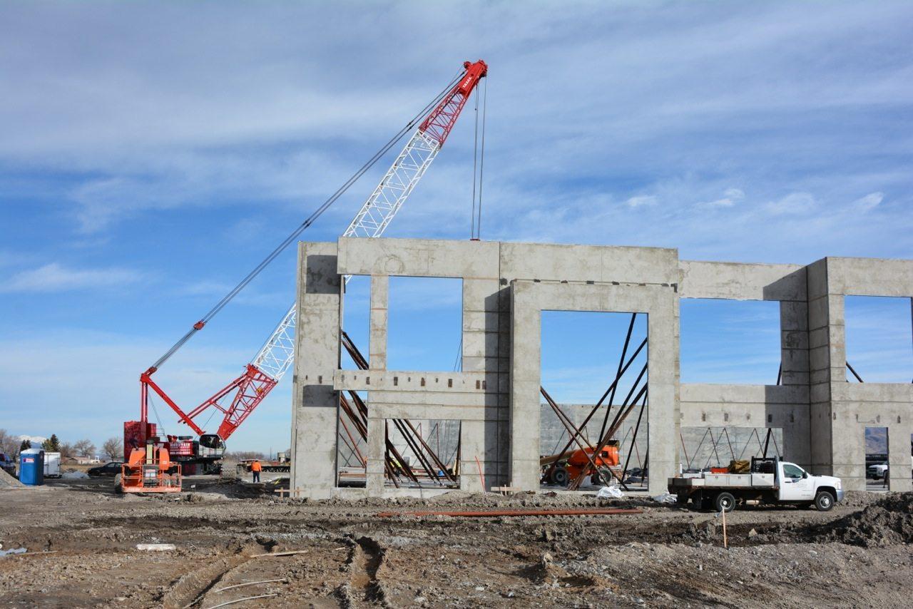 Tilt Up Concrete Construction Intermountain Concrete