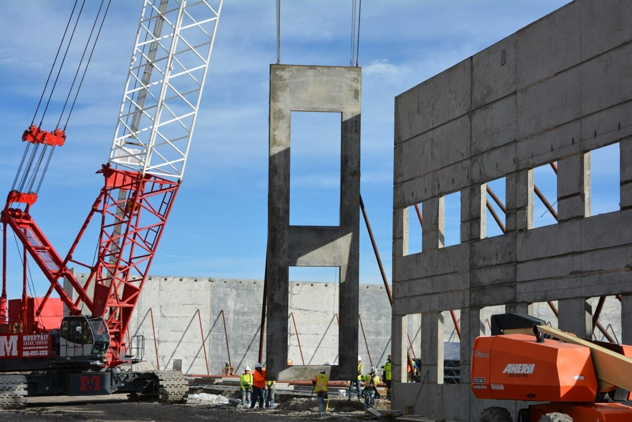 tilt up construction concrete trends