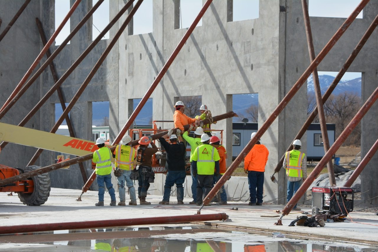 Intermountain Concrete Specialties Tilt-up Concrete Construction