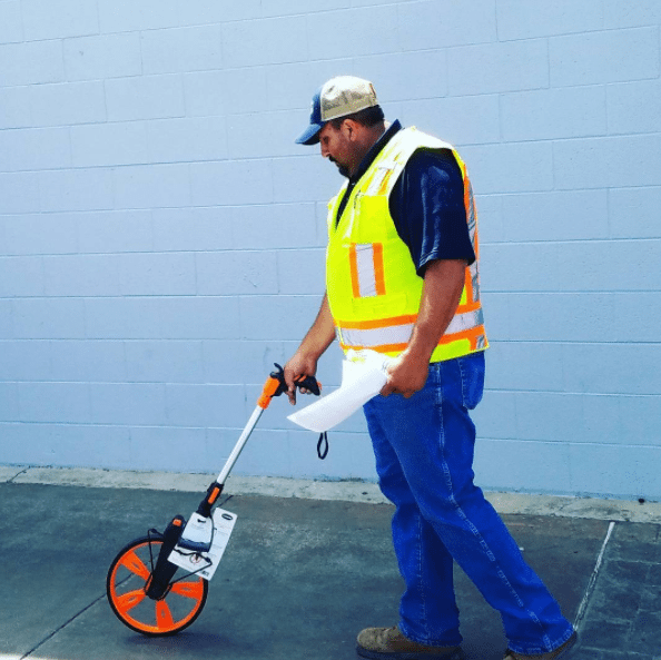 Precision measuring | Intermountain Concrete