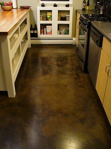 Example of Sealed Concrete Floor