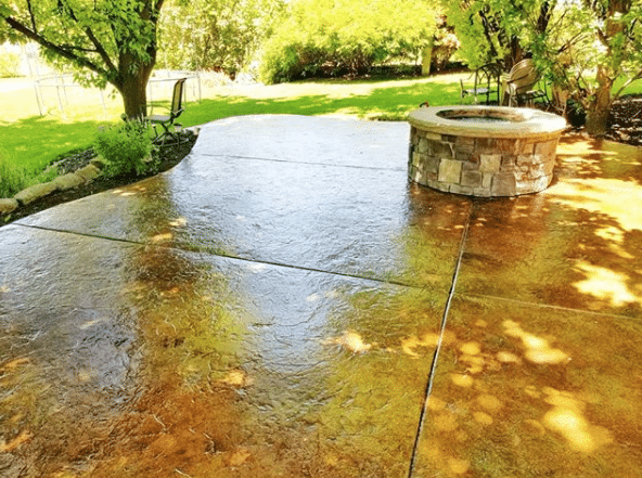 ICS concrete sealer for outdoor patio