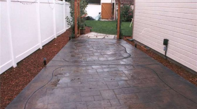 Paving The Way With Stamped Concrete Intermountain