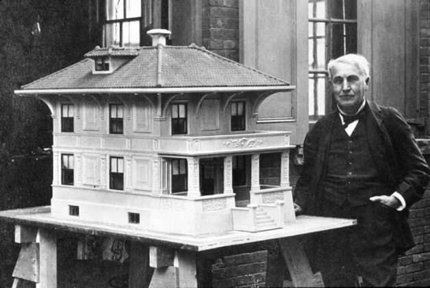Concrete History Facsinating Story Of Edison Portland