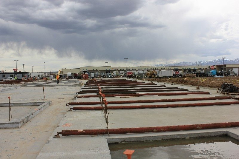 Tilt Up Concrete Slabs : Tilt up concrete construction intermountain