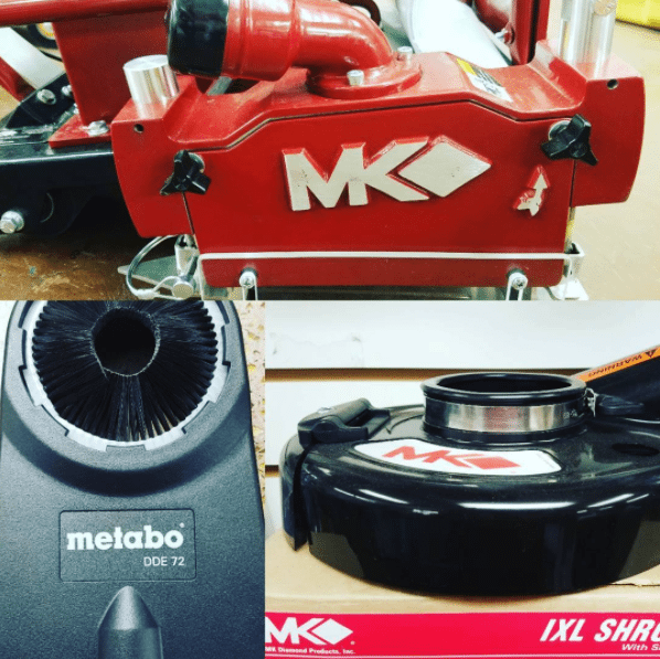 MK Diamond Metabo Dust Protection